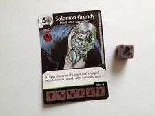 Dc Dados Maestros Justice League-Solomon Grundy-falleció el sábado # 100