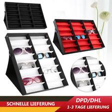 16/18 Slot Brillenbox Brillenkoffer Organizer Sonnenbrillen Brillenpräsentation