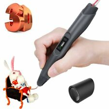Professional LED 3D Printing Drawing Pen Crafting Model w/ 2Pcs 1.75 mm ABS /PLA