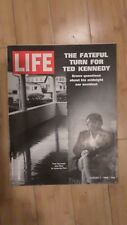 Life Magazine Aug.1,1969 Cover Ted Kennedy Hyannis Port