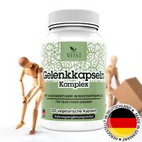 Gelenk-Kapseln 120 für Knorpel Gelenke MSM Chondroitin Glucosamin Zink Vitamin C