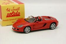Solido Hachette 1/43 - Porsche Carrera GT Cabriolet Red
