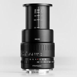 Ttartisan 40mm F2.8 APS-C Macro Lenses for Sony E/Fuji X/M4/3 Mount