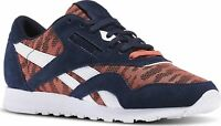 Reebok Classic CL Nylon Sail Away Sizes 3.5-8.5 Navy RRP £70 BNIB BD3376