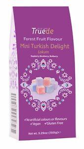 150g Mini Forest Fruit Turkish Delight Lokum Raspberry, Blackberry, Mulberry