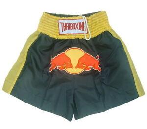 N8 Muay Thai Kick Boxing Shorts NavyBlue Redbull logoes style MMA S- 5XL