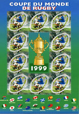 France Postage Stamps Coupe du Monde de Rugby 1999 (World Cup of Rugby 1999)