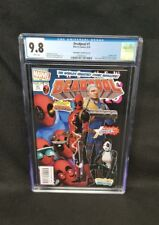 Deadpool #1 CGC 9.8 Christopher Cover B Unknown Comics Variant Mutants 98 Homage