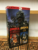 GODZILLA VS MECHAGODZILLA / GODZILLA VS GIGAN VHS DOUBLE FEATURE ANCHOR BAY