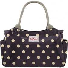 Cath Kidston Day bag Polka Dot Brown Button Spot Spotted Cotton coated handbag