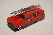 1:60 MAJORETTE DODGE PICK UP POMPIERS FIRE VAN TRUCK RED EXCELLENT CONDITION