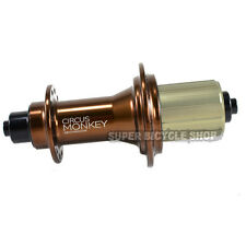 Circus Monkey HRW Road Rear Hub,24 Hole,Brown
