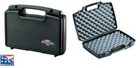6 x LARGE DOUBLE HARD GUN CASES for pistol Air Paintball Airsoft hand