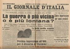25/9/1949 REAZIONI NEL MONDO ALL'ATOMICA DI STALIN