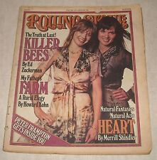 Rolling Stone - July 28, 1977 Back Issue HEART!