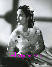 """MERLE OBERON 8x10 Lab Photo 1939 """"WUTHERING HEIGHTS"""" STRIKING DELICATE PORTRAIT"""