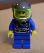 Lego Rock Raiders - Jet Figur - Blau Minenarbeiter Steine - Figuren Felsen Neu