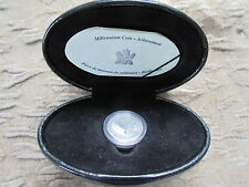 Canada 2000 Sterling Silver 25 Cent Coin March Achievement w/Box