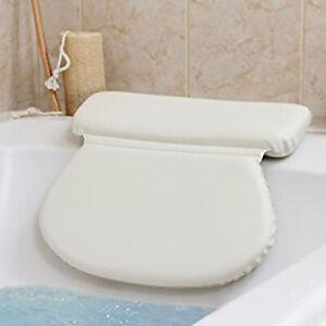 Luxury Waterproof Home Spa Bath Pillow Non-Slip Bathtub Relaxing Comfort Cushion