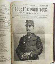 ** L'ILLUSTRE POUR TOUS 1884-1885 - NOMBREUSES GRAVURES - ILLUSTRATEURS CELEBRES