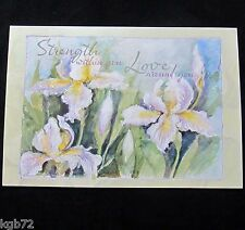 Leanin Tree Sympathy or Funeral Greeting Card Flowers Multi Color R122 Memorial