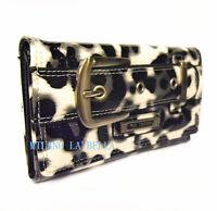 082 Black LYDC Designer Womens Ladies Vintage Buckle Purse Wallet Boxed Gift