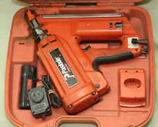 Paslode IMCT Cordless Utility Framing Nailer 900420 In Case W/ Charger & Battery