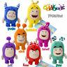 Set of 7 Oddbods Plush Toys Fuse Slick Bubbles Zee Pogo Jeff Newt Doll Kids Gift