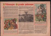 Cigogne Tain-l'Hermitage la Drôme/Germany Soldiers Russia G.I. 1950 ILLUSTRATION