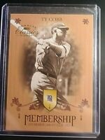 2003 Donruss Classics Membership Ty Cobb Tigers M12 #d 1531/2500 MINT SP
