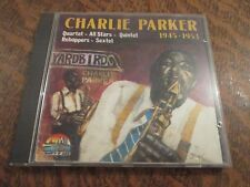cd album CHARLIE PARKER 1945-1953 giants of jazz