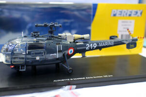 Perfex Resin model 1/43 Alouette III Marine Rescue helicopter for collection