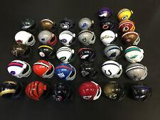 """NFL MINI Pocket FOOTBALL HELMET COMPLETE 32 SET 2"""" RIDDELL 2013"""