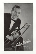 Glen Miller 1940's-50's Mutoscope Music Corp of America Arcade Card Postcard