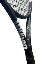 "New listing Wilson Pro Staff RF 97 Autograph v12 Tennis Racquet 97sq 4-3/8"" 16x19 12 Pts HL"