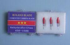3pcs 45°cutting plotter vinyl cutter blade knife