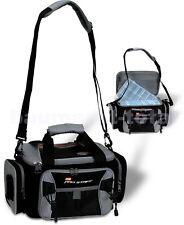 Zebco Pro Staff Deluxe Carry All Angeltasche Zubehörtasche Köderboxen Kleinteile