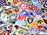 National Football League Sticker Sheet NFL Laptop Stickers NFL Stickers decals