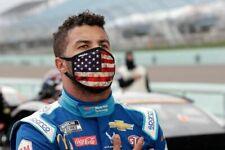 Bubba Wallace American Flag Mask Patriotic Reusable Protection Face Cover NASCAR