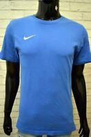 Maglia Blu Uomo NIKE Taglia S Polo Maglietta Manica Corta Shirt Man Herrenhemd