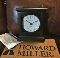 Howard Miller® 630-246 Urban II Wood Mantel Clock/Black Coffee Color MADE IN USA