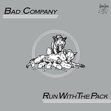 BAD COMPANY Run With The Pack 2 x 180gm Vinyl LP Remastered 2017 NEW & SEALED