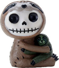 NEW Furrybones Furry Bones Brady Skull Skeleton Sloth Figurine Gift 9062