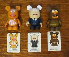 "Lot of Disney Vinylmation 3"" Muppet #1 Figures"