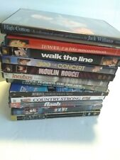 LOT OF 12 MUSICAL DVDs - jewel, jack cotton, ratm, incubus, Metallica, Glee etc