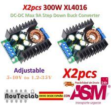 2pcs 300W XL4016 DC-DC Max 9A Step Down 5-40V to 1.2-35V Adjustable Power Supply