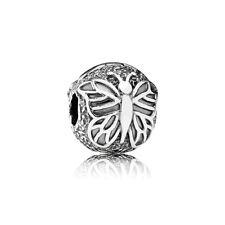 JS340 C2 clip stopper Silver charm bead Fit European Bracelet/Necklace Chain