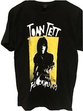 Joan Jett and the Blackhearts T Shirt Tour Merch Size Large