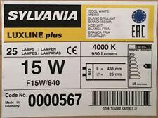 X2 SYLVANIA 18 Inch 15w 15 Watt 840 Cool White Tube T8 F15/840 Blub 438 Mm
