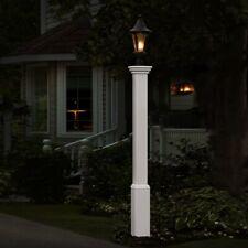 "Decorative Vinyl Outdoor 72"" MADISON Lamp Post Pole w/20 Year Warranty!"